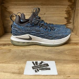 Nike Lebron 15 low signal blue sneakers shoes